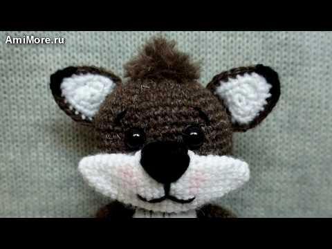 амигуруми схема енота игрушки вязаные крючком Free Crochet