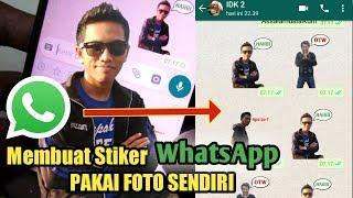 Download Video CARA membuat Stiker Whatsapp Pakai Foto Sendiri MP3 3GP MP4
