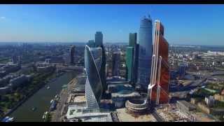 Москва Сити - полет ( вид сверху) thumbnail