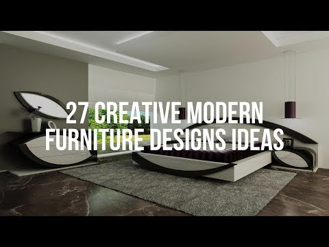 🔴 27 Creative MODERN FURNITURE DESIGNS Ideas