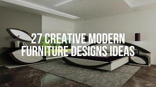 27 Creative Modern Furniture Designs Ideas