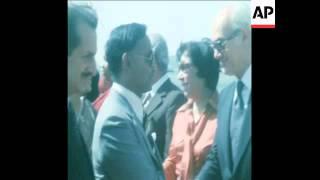 UPITN 4 10 78 GENERAL ZIAUR RAHMAN OF BANGLADESH ON OFFICIAL VISIT