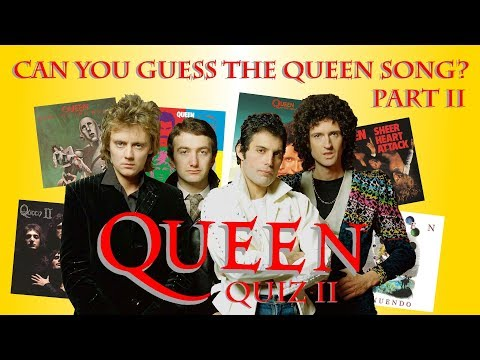 Queen Quiz Part 2 || How Well Do YOU Know Queen's Music??