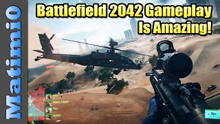 Battlefield 2042 Gameplay is Amazing - New Vehicles, Specialists & Gadgets Revealed