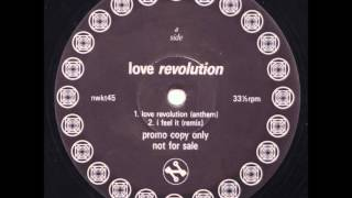 Love Revolution - Love Revolution (Anthem)
