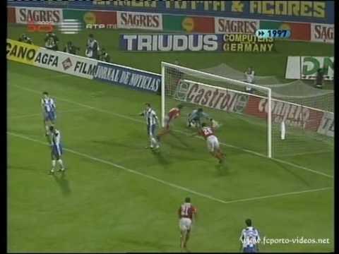 SL Benfica 1 FC Porto 2 -1997 Jardel party