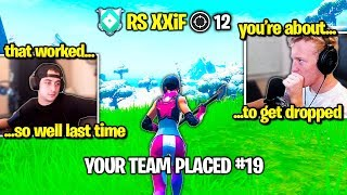 TFUE CLOAKZY 72HRS *WRECKED* by CHEATER XXiF in PRO TRIOS Fortnite Scrims