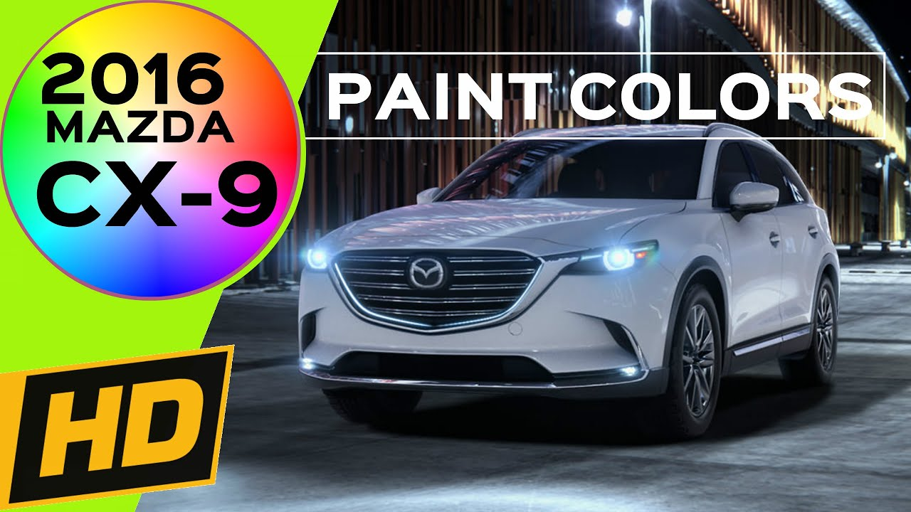 Mazda Cx  Paint Colors