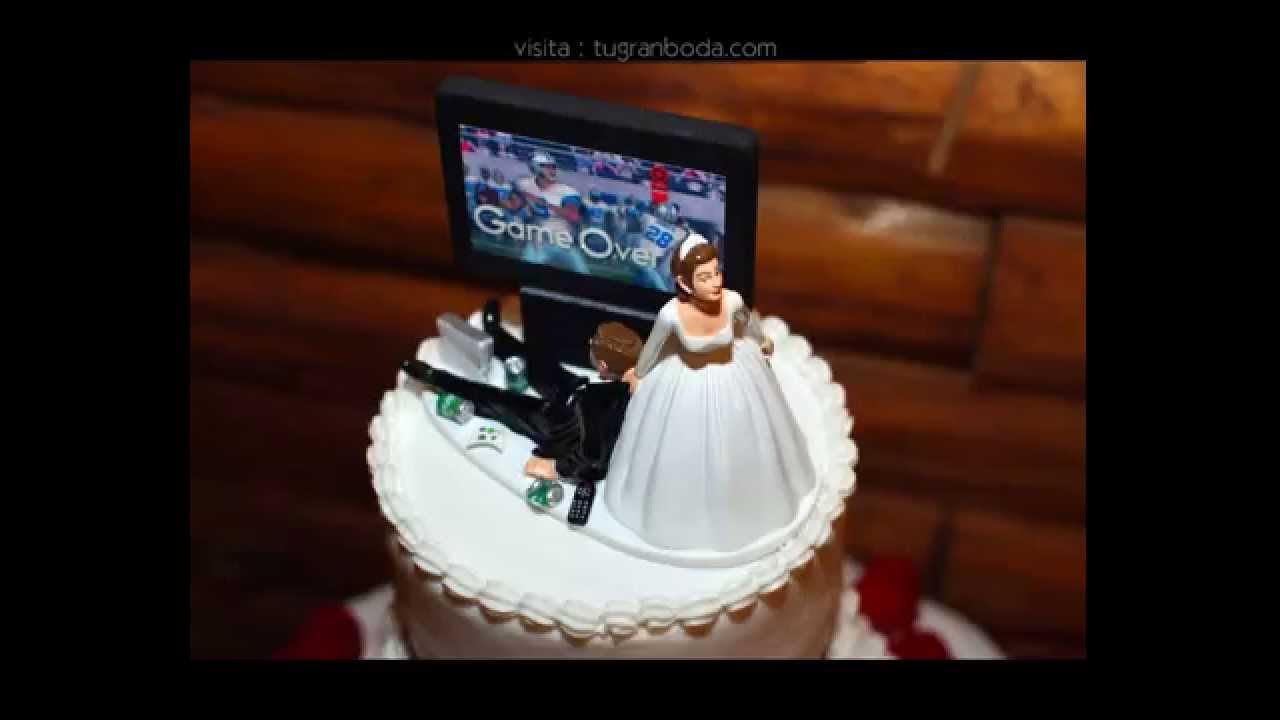 Pasteles de boda topes originales youtube - Cosas de boda originales ...