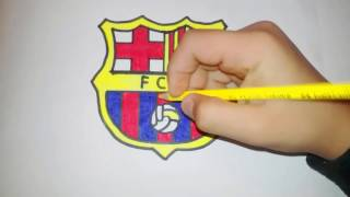 Çok Kolay Barcelona Logosu çizimi