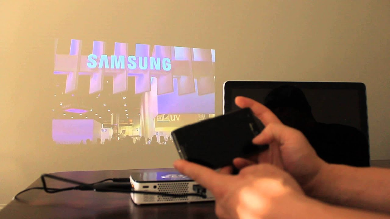 Can you hook up chromecast to a projector