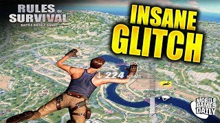 RULES OF SURVIVAL - Teleport To Island Glitch (iOS Android)