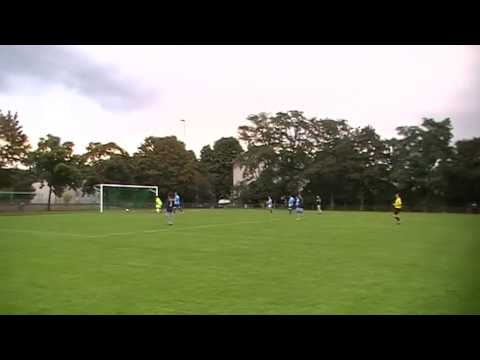 Tor in der 91. Minute Makkabi Frankfurt / FFV Sportfreunde am 24.08.2014