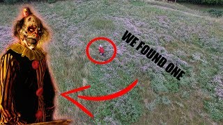 HUNTING KILLER CLOWNS WITH A DRONE! WE FOUND ONE! (PART 6)