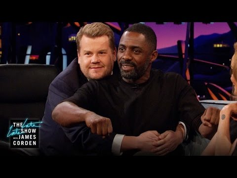 Thumbnail: What Does an Idris Elba-James Corden Date Look Like?