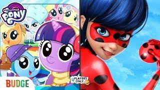My Little Pony Pocket Ponies VS Miraculous Ladybug & Cat Noir [ADRIEN Gameplay]