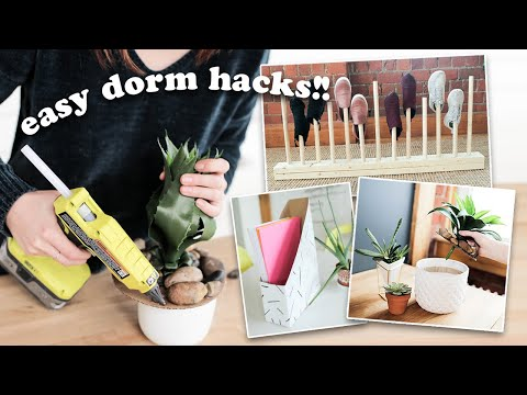 10 easy dorm diys you need to try