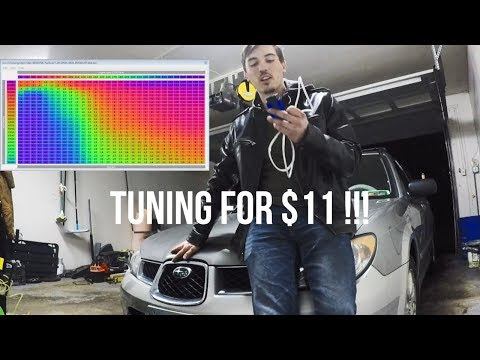 Flashing and Tuning my Subaru ECU with an $11 Vagcom Cable