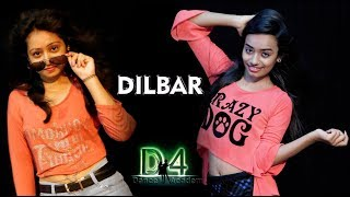 DILBAR | Satyameva Jayate | Duet Dance Choreography By D4 Dance Academy