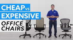 Cheap vs. Expensive Office Chairs: What are the Differences?