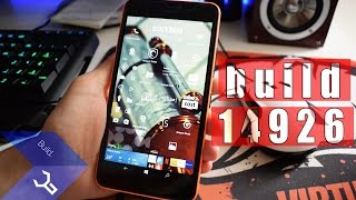 Windows 10 Mobile - Redstone 2 build 14926 (Lumia 640XL)
