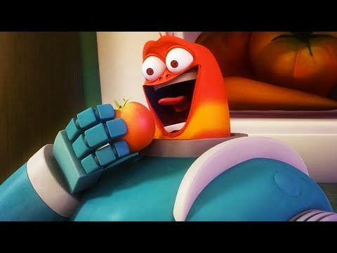 LARVA - ROBOT RED | Cartoon Movie | Videos For Kids | Larva Cartoon | LARVA Official