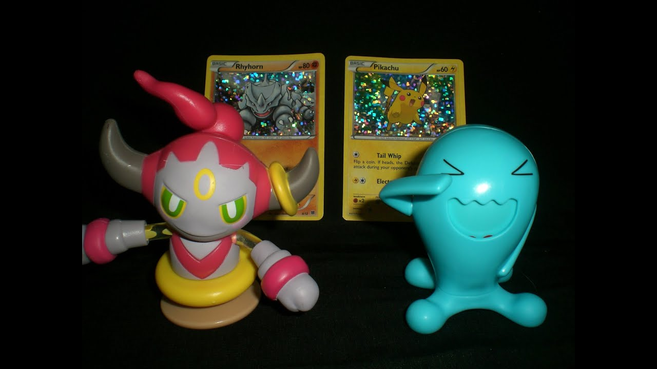 hoopa wobbuffet mcdonald s happy meal 2015 toy review youtube