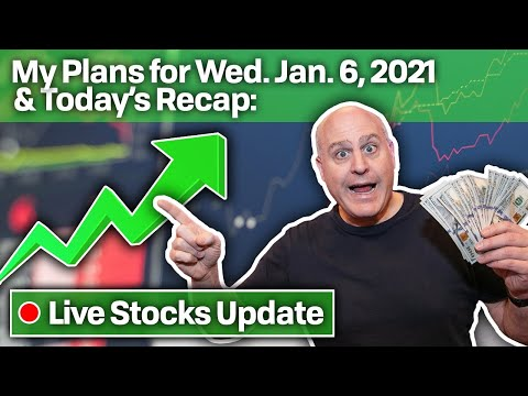 $191K UP 🔥 That Means We're BACK + 🔴 LIVE 🔴 Trading Plans Tomorrow (Wed. Jan. 6, 2021)
