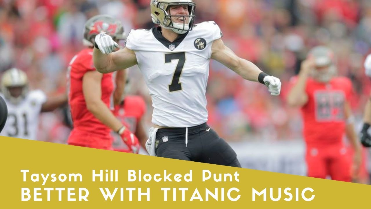 Taysom Hill blocks punt, scores twice in Saints' victory