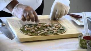 How To Make Florentine Flatbread Pizza