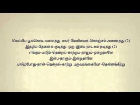 Padum Pothu Naan Tamil Karaoke Tamil Lyrics   YouTube