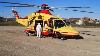 Paziente del basso Molise trasferito in elicottero a Roma