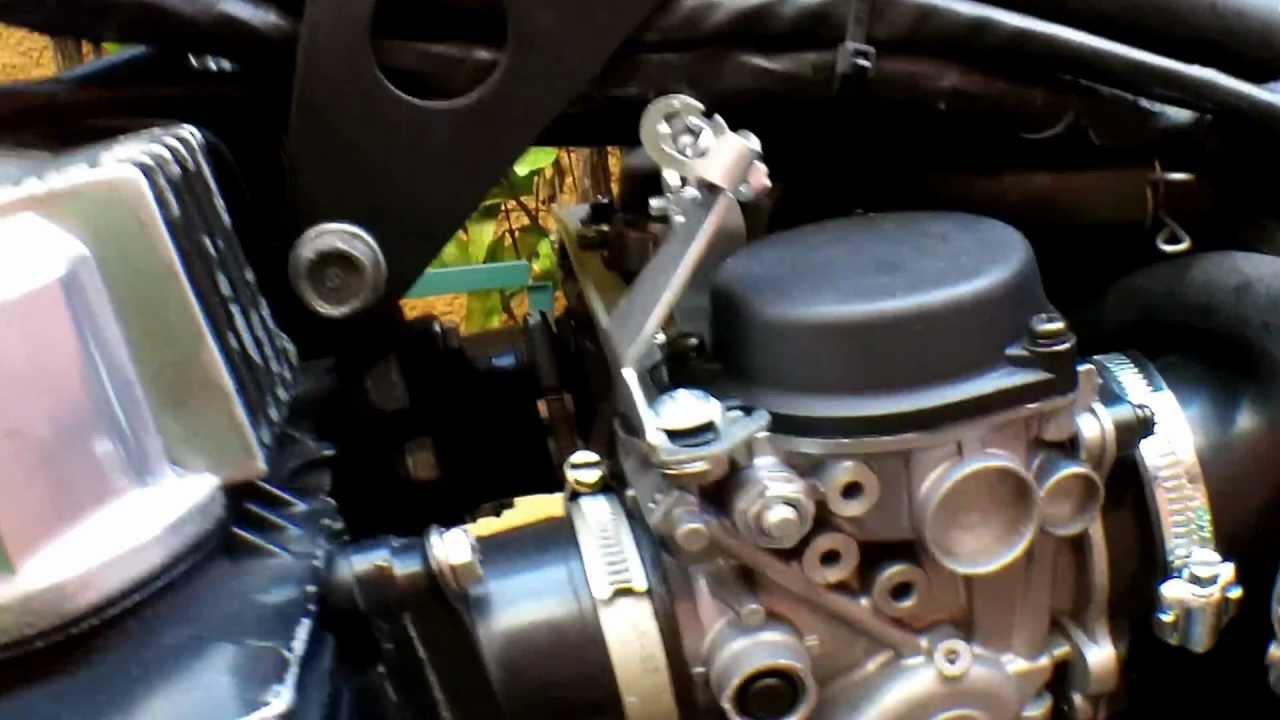 Honda F3 600 >> Carburador CB 500 na CB 400/450 - YouTube