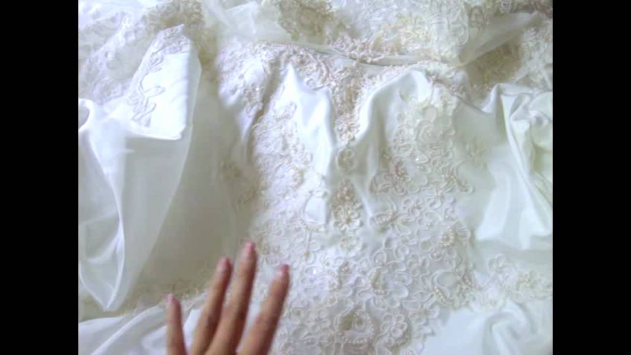 Vintage Wedding Dresses - Thrift Store Findings ;) - YouTube