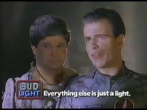 1989 Bud Light Commercial With Hot Alien Women