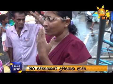 Rain disrupts lives in Colombo, Kiribathgoda Vesak pandal also collapses