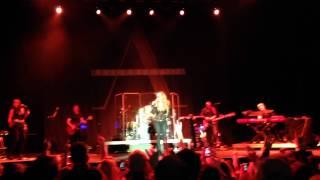 Anastacia - Back in Black & Other Side of Crazy & Sweet Child of Mine live @ Köln - 20.01.2015