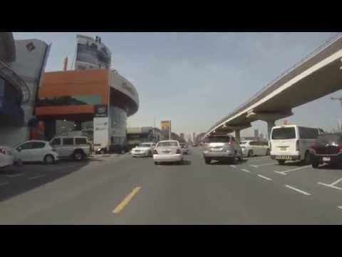My daily routine road trip to work (Dubai, UAE)
