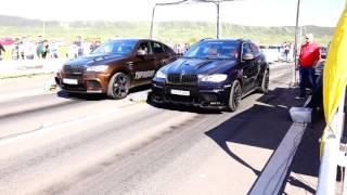BMW X6M HAMANN vs BMW X6M G-POWER