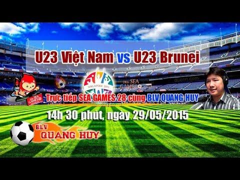 U23 Việt Nam vs U23 Brunei - SEA Games 28 | FULL