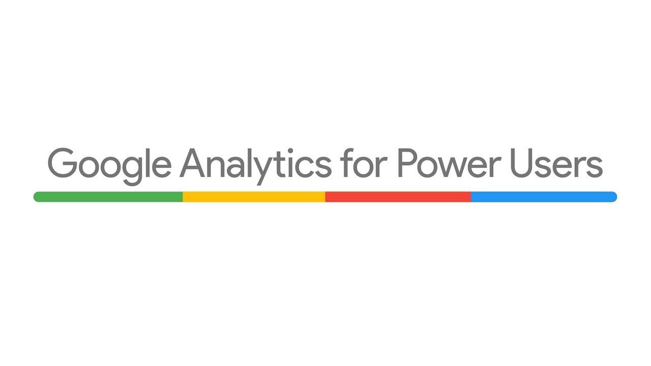 Register for Google Analytics for Power Users