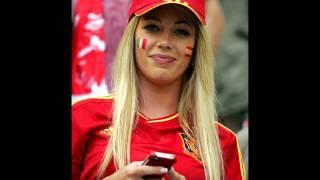 بنات مشجعات من مختلف الجنسيات في مونديال البرازيل 2014