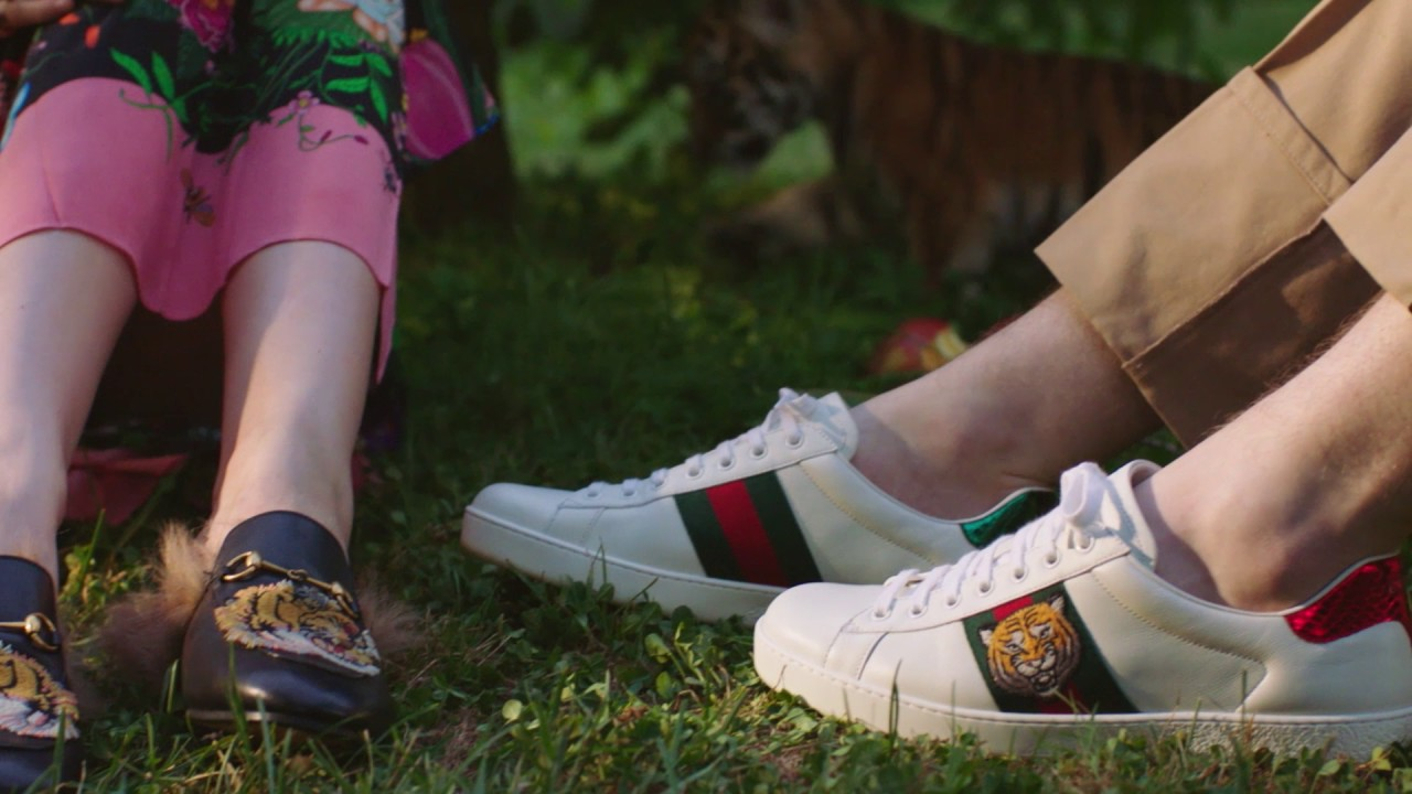 c403cc782eff Gift Giving 2016  Gucci Ace Sneaker - YouTube