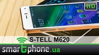 s-TELL M620 - Обзор смартфона