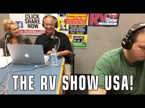 The RVgeeks Appear on The RV Show USA Syndicated Radio Show