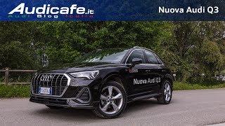 New Audi Q3 35 TDI Test Drive - Tutta nuova , tanta tecnologia di serie