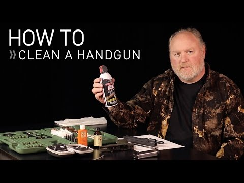 How to Clean a Handgun - Concealed Carry Training Videos (CCTV)