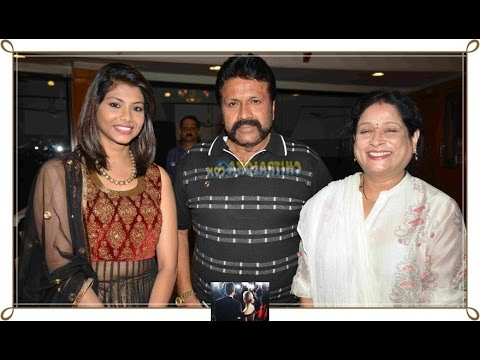 B. C. Patil and family photos with friends and relatives