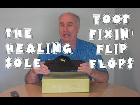 The Healing Sole Review- Foot Fixin' Flip Flops | EpicReviewGuys 4k CC