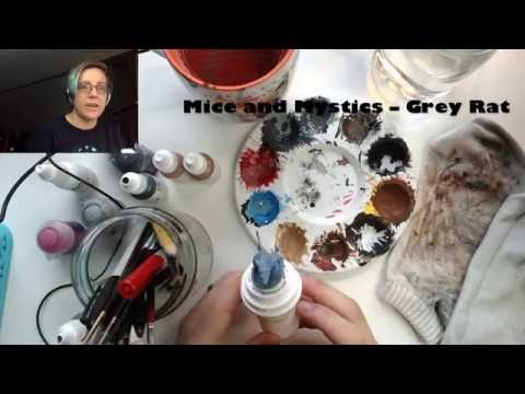 Mice and Mystics Rat Painting: Part 3